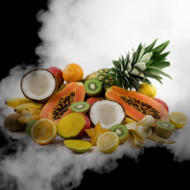 Tropical Fruit Mix e-Liquid from Elite Liquid
