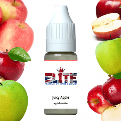 Elite Liquid  juicy apple 99p vape juice